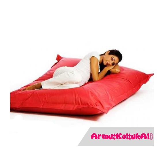 Büyük Yer ve Yatak Minderi - Çok Amaçlı Kırmızı